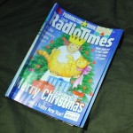 Ten rolled up Radio Times (Christmas edition of course)